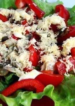 Супер вкусный диетический салат