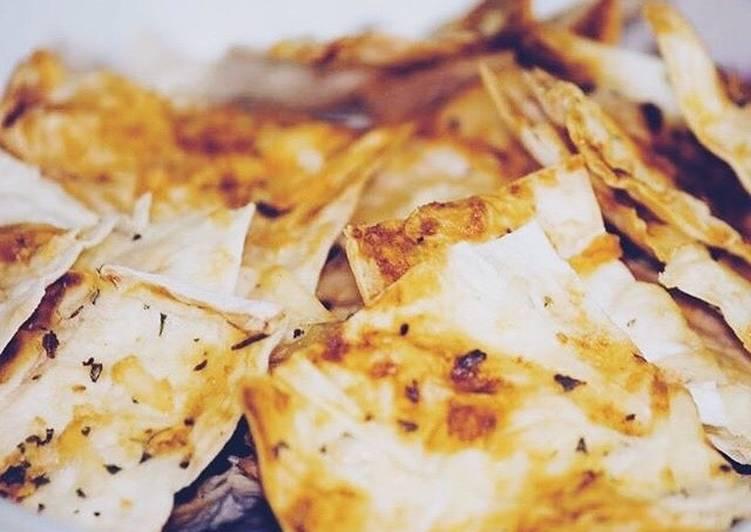 Чипсы из лаваша #кулинарныймарафон
