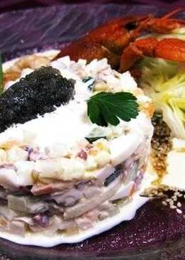 Рецепт классического «салата Оливье»