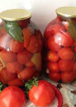 Консервирование помидоров на зиму - рецепт, проверенный временем