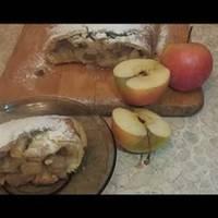 Штрудель с яблоками #спас