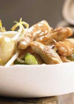 Овощное рагу с курицей пошагово. Курица с овощами, китайский рецепт