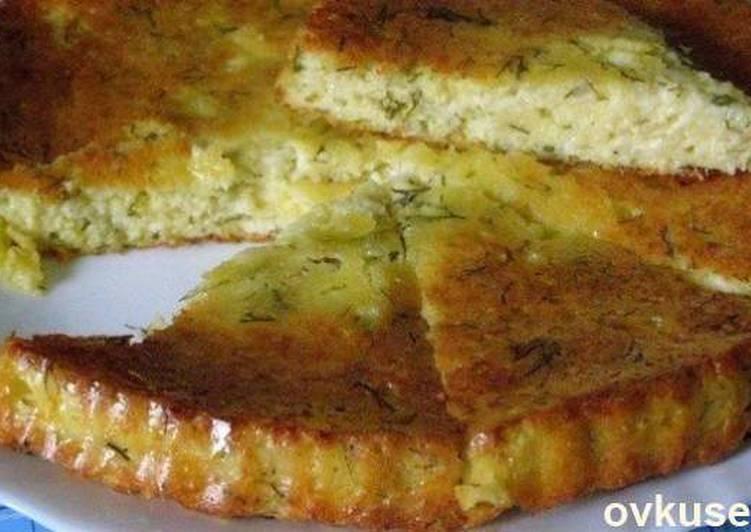 Вкуснейший сырный пирог