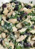 Салат с фасолью и куриной грудкой #кулинарныймарафон