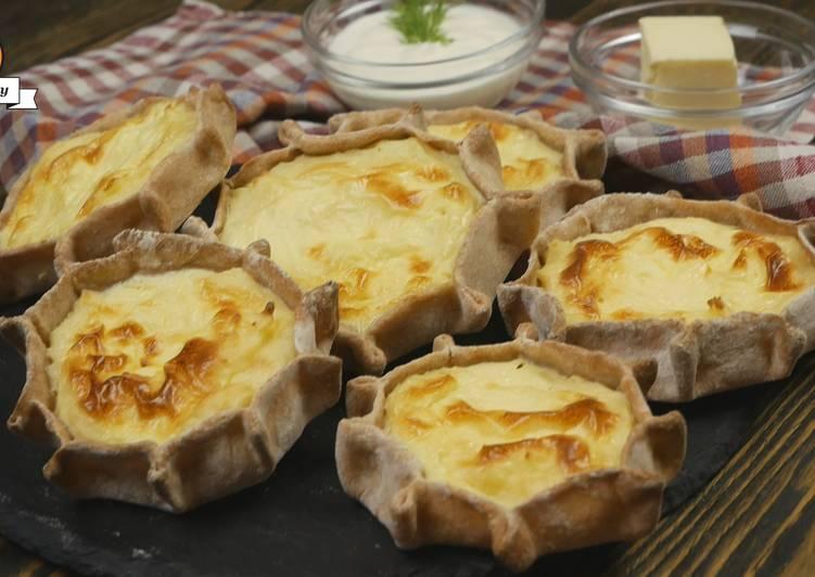 Как печь калитки с картошкой