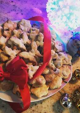 Печенье на сметане на Новый год