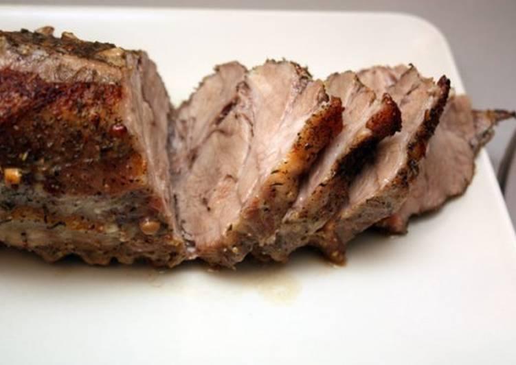 Запеченная в соли свинина