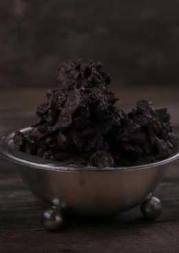 Криспи из Черного Шоколада с Фундуком