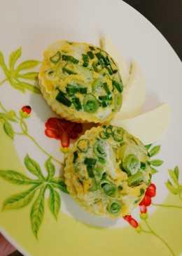 Омлет с зеленью на пару #кулинарныймарафон