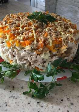 Слоёный салатик