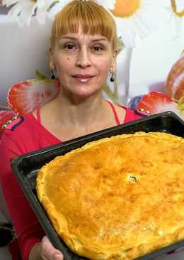Рыбный пирог, как готовила еще моя бабушка