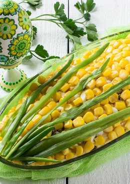 """Праздничный салат """"Кукуруза"""""""