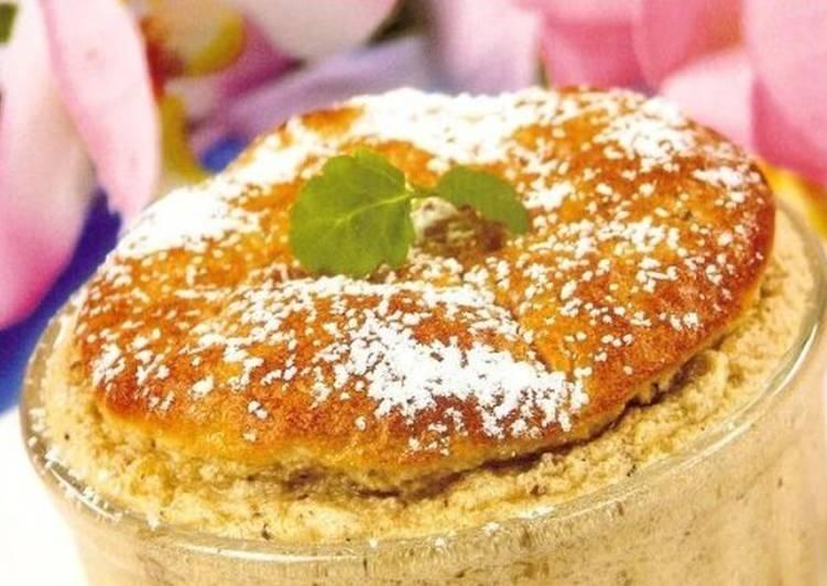 Французское суфле из грецкого ореха