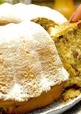 Рождественский ореховый кекс