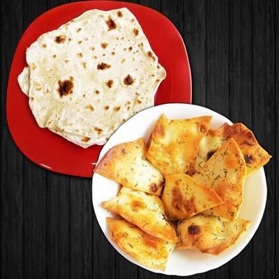 Армянский лаваш на сковороде + чипсы из домашнего лаваша с чесноком и укропом