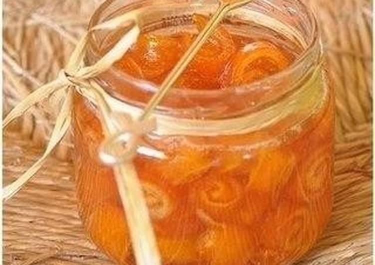 апельсиновое варенья рецепт