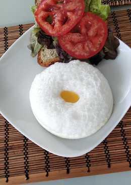 Яичное облачко на завтрак