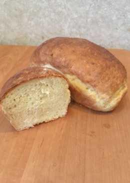Домашний хлеб в духовке. Самый простой рецепт