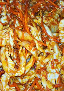 Салат по-корейски из капусты и моркови