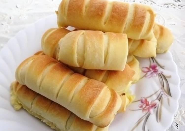 Пирожки по-польски с плавленым сыром