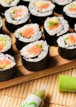 Как мы готовили суши - роллы дома. Получилось потрясающе