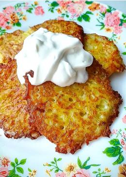 Картофельные драники #кулинарныймарофон