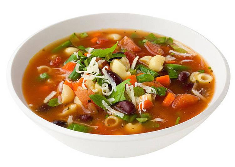Суп минестроне (зимний)
