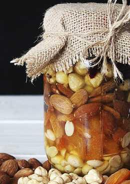 Орехи и Сухофрукты с Мёдом - Витаминная Смесь - Идея Сладкого Подарка на Новый Год