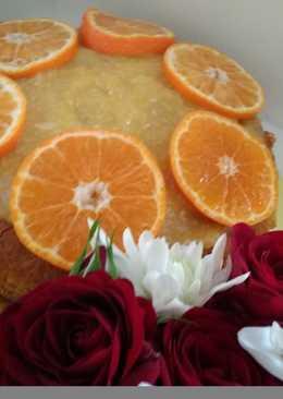 Вкусный апельсиновый тортик