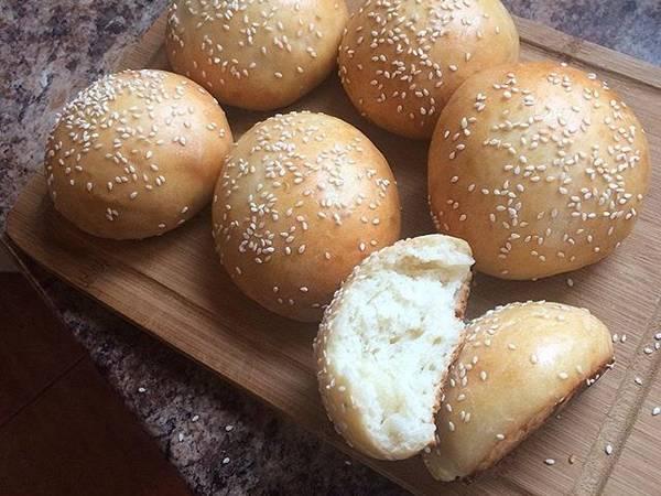 Самые мягкие булочки для бургеров