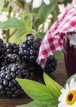 Варенье из ягод ежевики