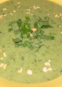 *Крем-суп из черемши и картофеля*