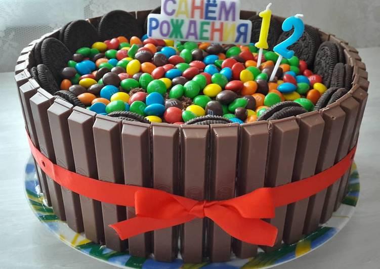 Торт на день рождения сына основное фото рецепта