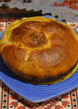 Пирог с тыквой! Дрожжевое тесто. Ну, очень вкусный тыквенный пирог