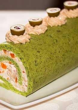Оригинальный закусочный торт на праздничный стол
