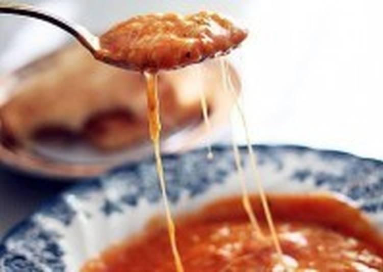 Томатно-сырный суп-пюре по-турецки