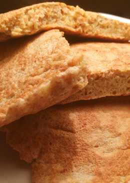 Диетическая сырная лепёшка (тортилья)