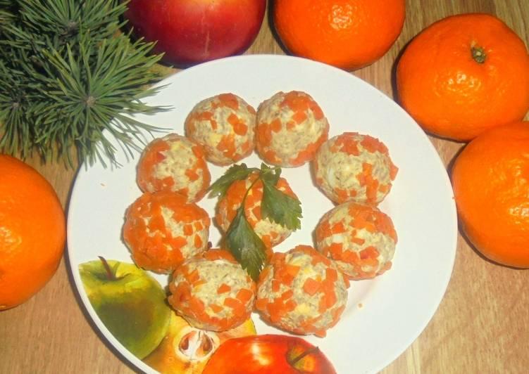 Печеночно-сырные шарики