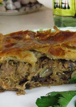 Пирог с индейкой и черносливом