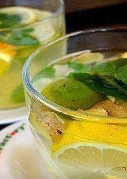 Чай имбирный для похудения и снижения аппетита