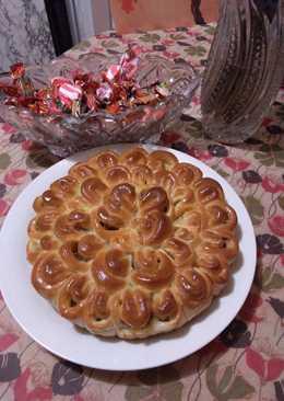 Пирог Хризантема