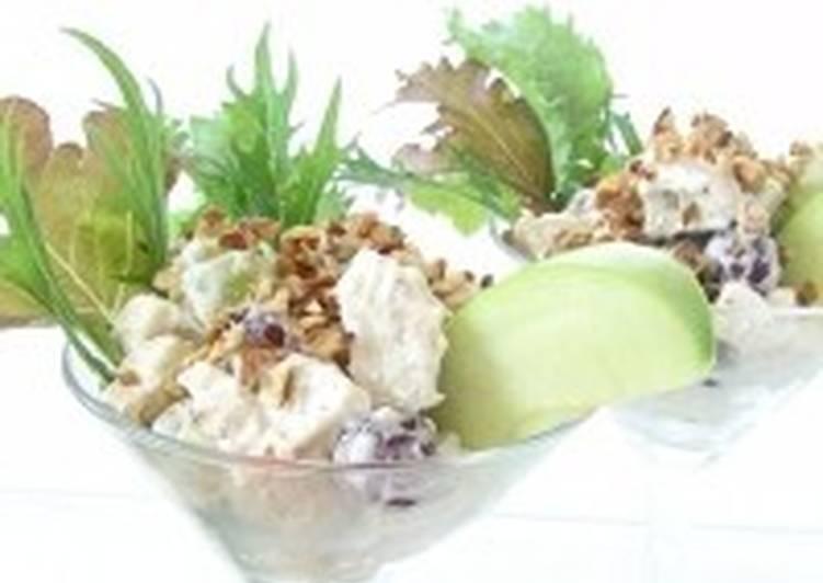 Салат новогодний «Лебеди»