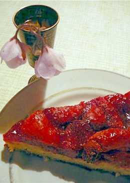 Зимний ягодный тортик