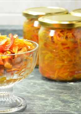 Баклажаны по-корейски - вкуснейший салат из баклажанов на зиму