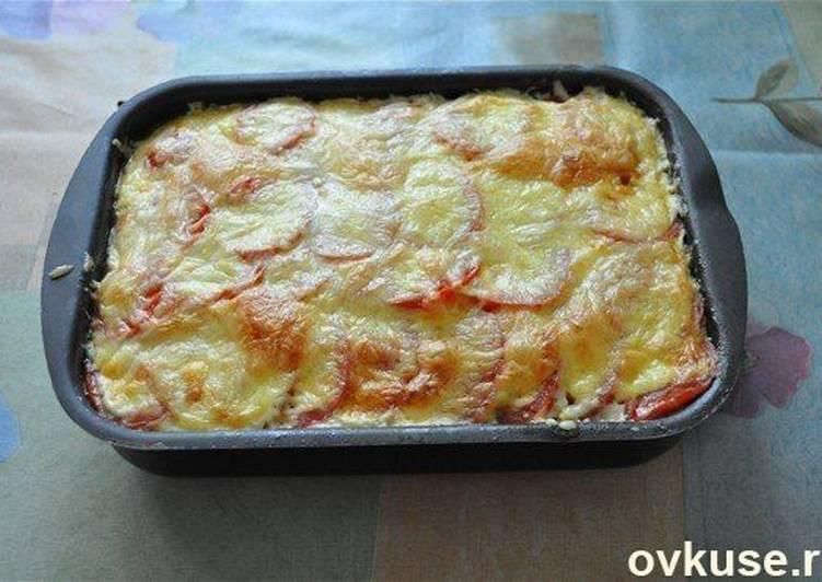 рецепты запеканки кабачка с картошкой с фаршем