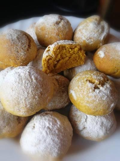 Печенье овсянно - тыквенное