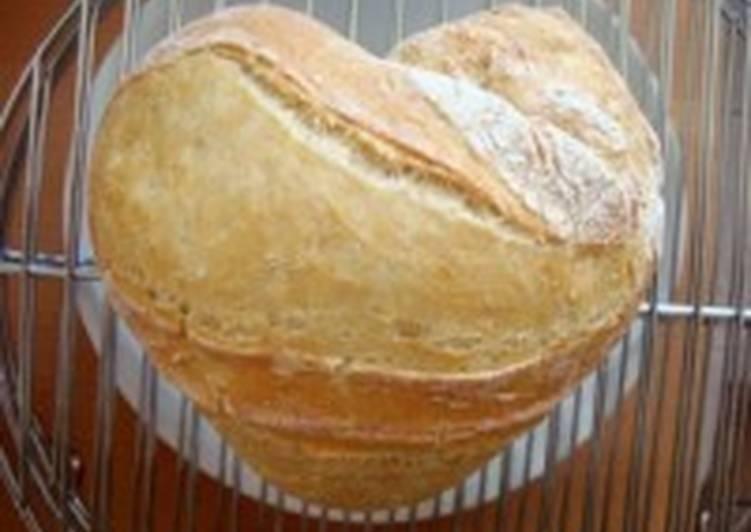 Домашний хлеб ко Дню святого Валентина