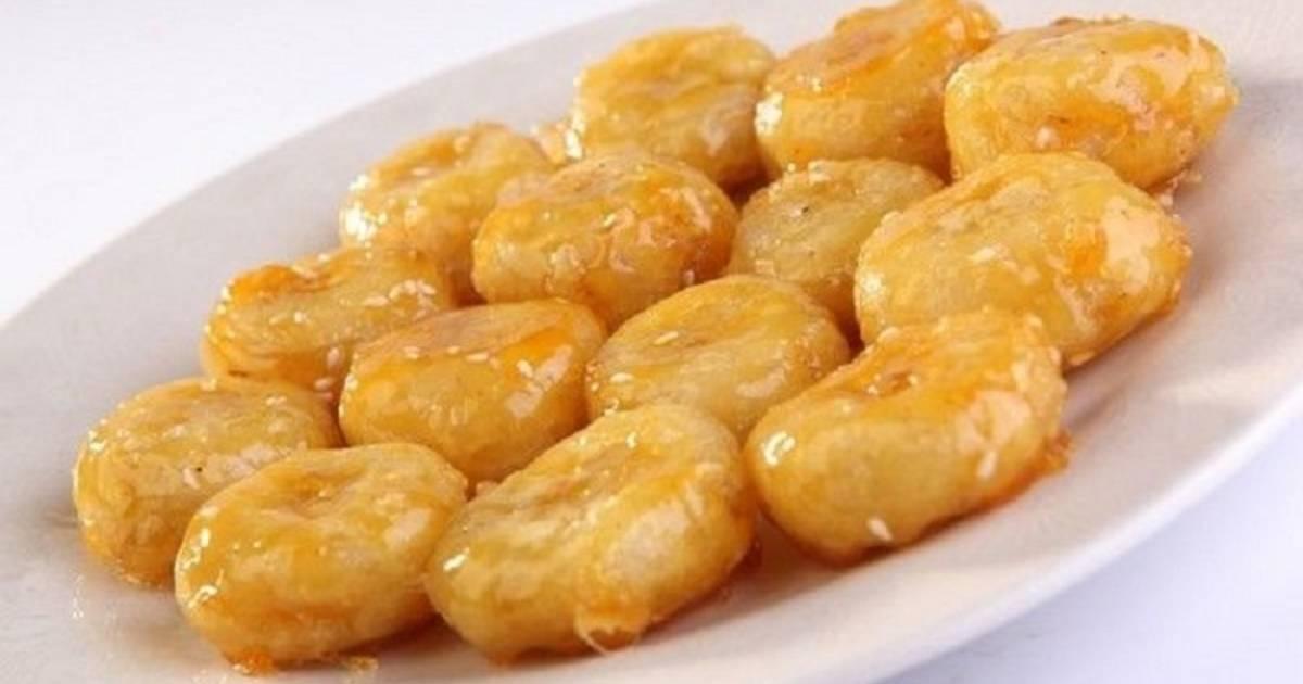 десерт жареные бананы в карамели рецепты с фото