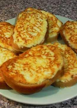Бутерброды горячие с плавленным сыром