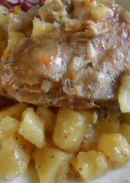 Окорочка с картофелем в мультиварке
